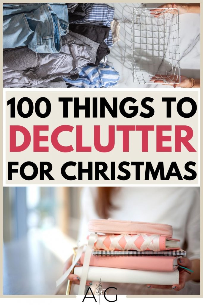 30 things to declutter
