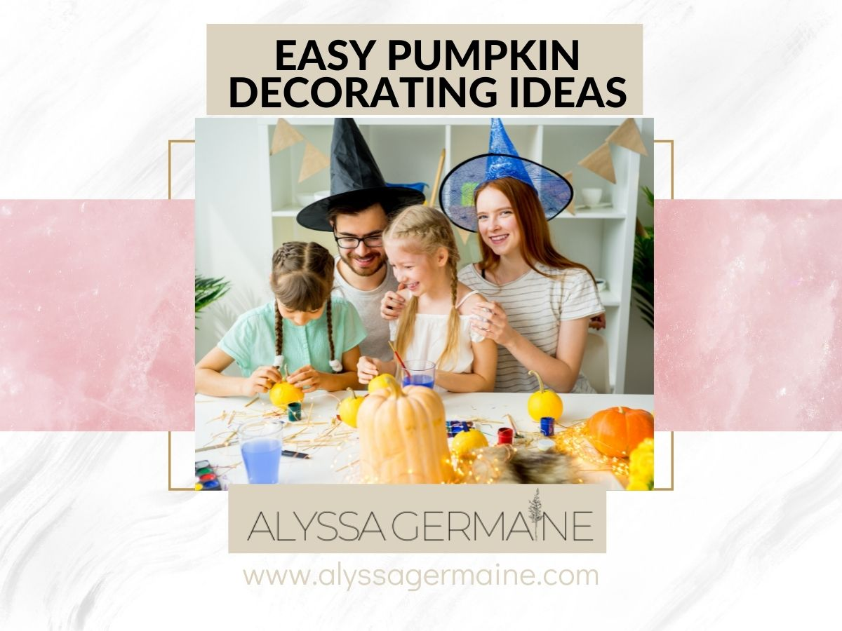 easy pumpkin decorating ideas for toddlers